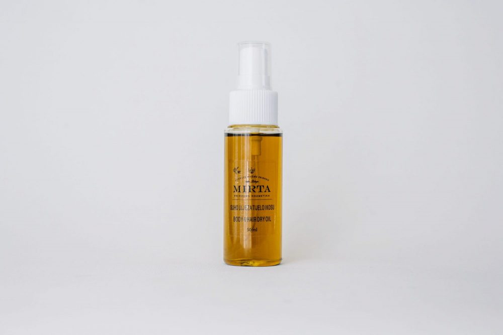 Suho ulje za kosu i tijelo