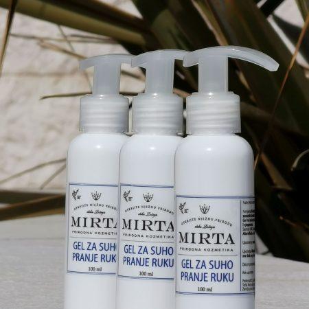 gel za dezinfekciju i suho pranje ruku s aloe verom i vitaminom E