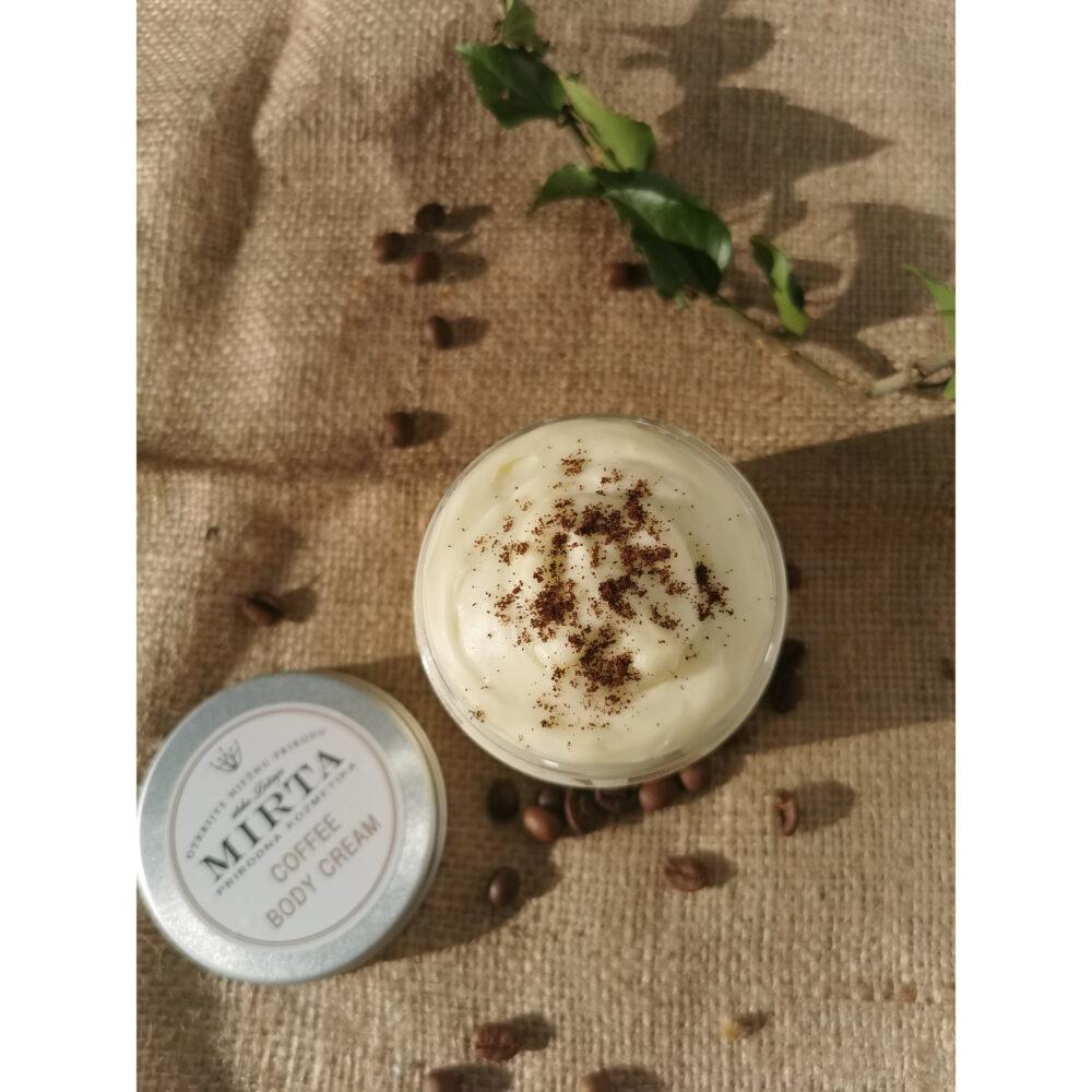 krema za tijelo s kavom i kakao maslacem